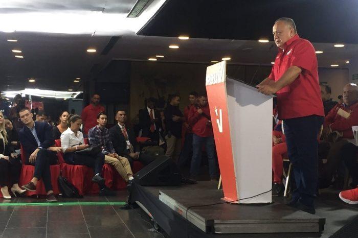 Diosdado Cabello: Si la AN no está lista, Nicolás Maduro irá a la Constituyente