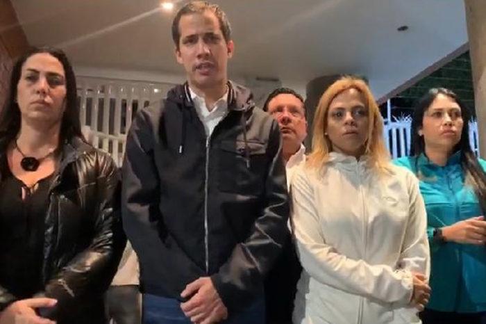 """Diputados acuden a la residencia de Yanet Fermín para evitar """"secuestro"""" de la Dgcim"""