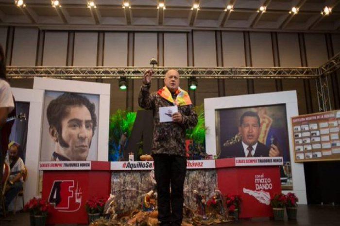 "Cabello: Calderon Berti soltó la sopa porque fue relegado del grupo que ""chupaba plata"""