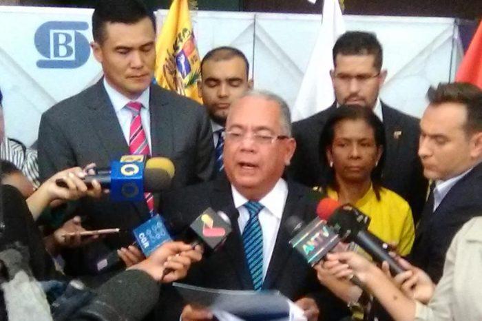 Elvis Amoroso pide a Sudeban congelar cuentas de los que integran junta ad hoc de Citgo