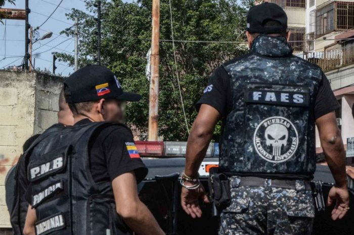 FAES detuvo a ocho integrantes de la ONG Acción Solidaria