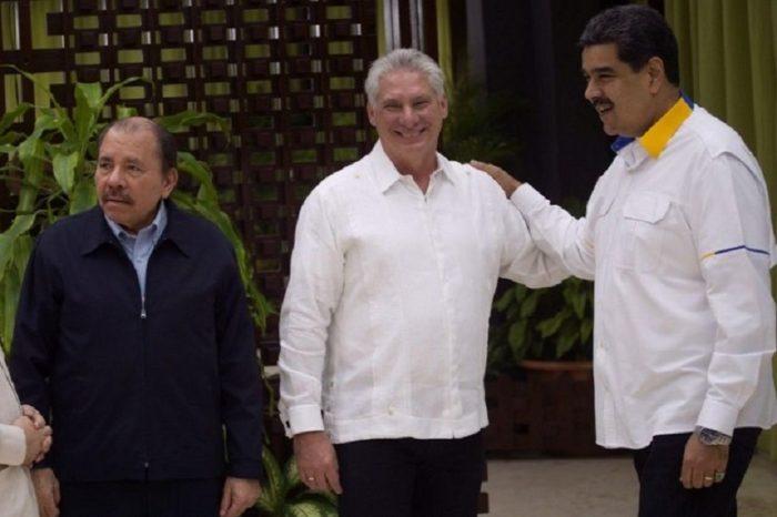Díaz-Canel, Maduro y Ortega inauguran cumbre de la debilitada Alba