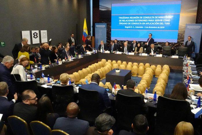 Miembros del TIAR aplicarán medidas restrictivas a 29 personas vinculadas con el régimen