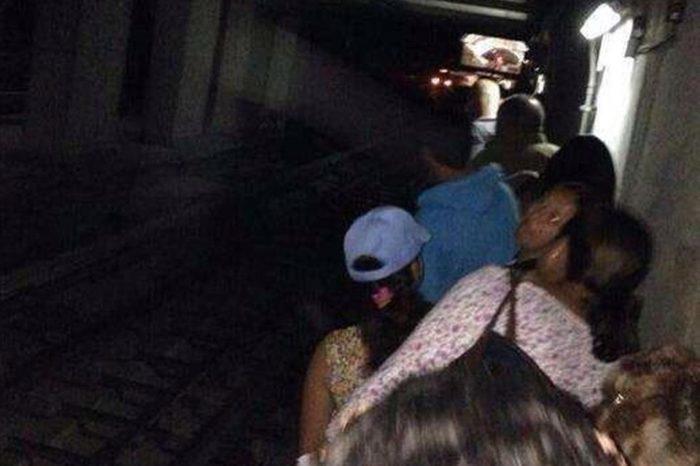 Tren varado en el Metro de Caracas provocó al menos seis heridos