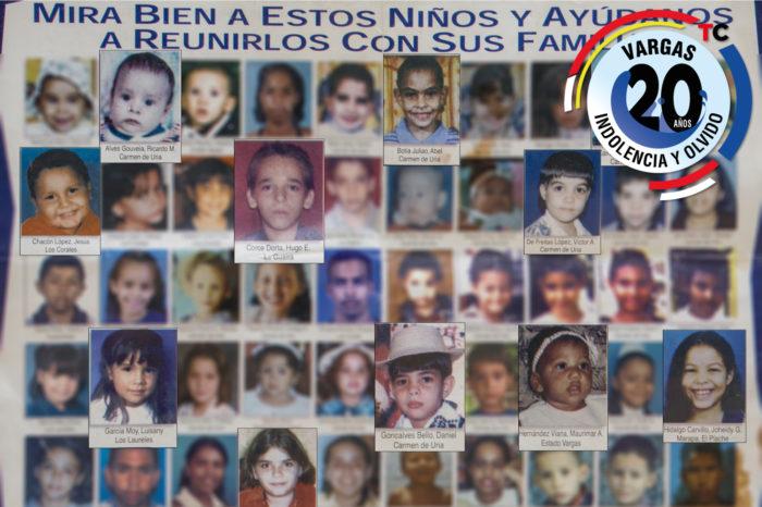 De los niños extraviados durante la tragedia de Vargas nadie habla (III)