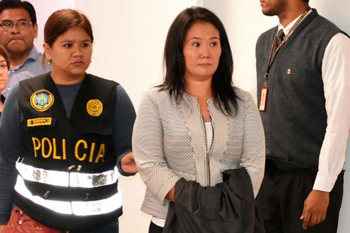 15 meses de prisión preventiva, Keiko Fujimori vuelve a la cárcel