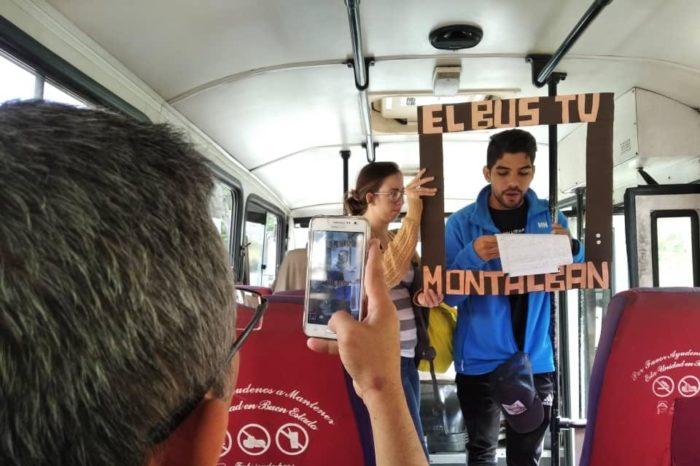 Voluntarios de las universidades venezolanas dan vida a El BusTV