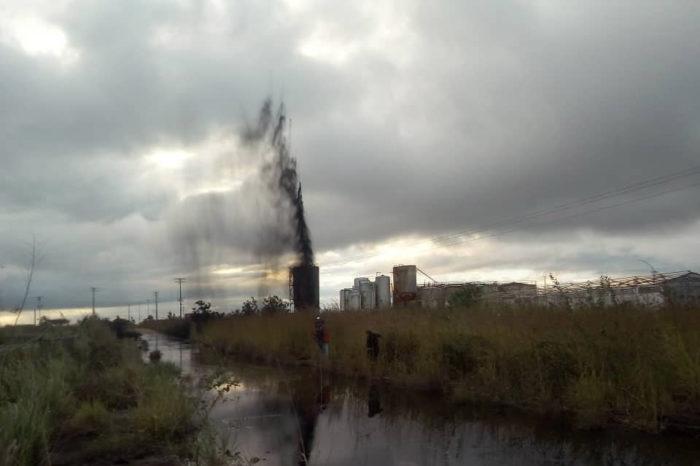 Derrame en estación petrolera podría contaminar ríos de Monagas