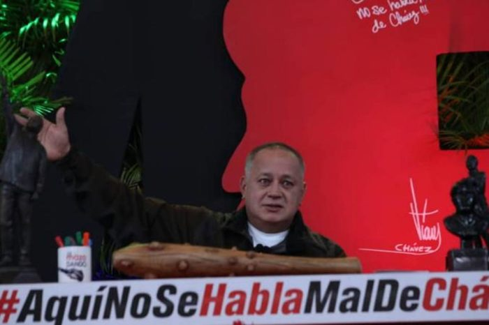 """Cabello: """"No vamos a dejar que vayan a quemar el Palacio Federal Legislativo"""""""