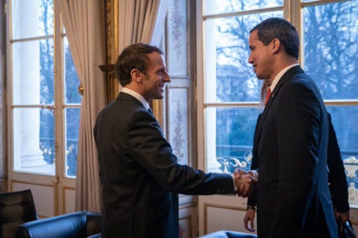 Juan Guaidó sostiene reunión fructífera con presidente francés Emmanuel Macron