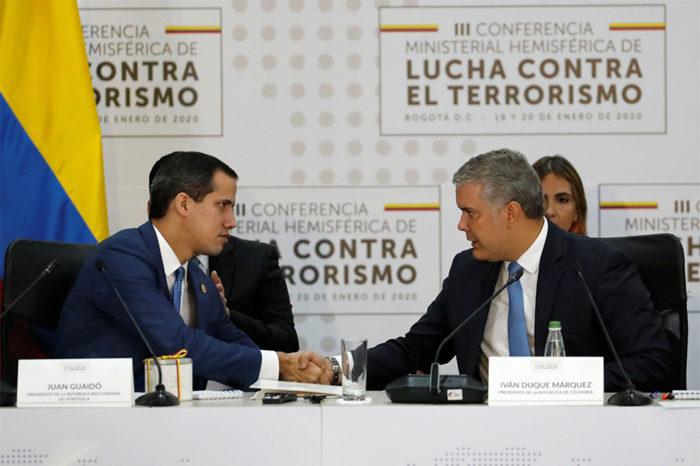 Iván Duque: La transición para unas elecciones en Venezuela es un deber de todos