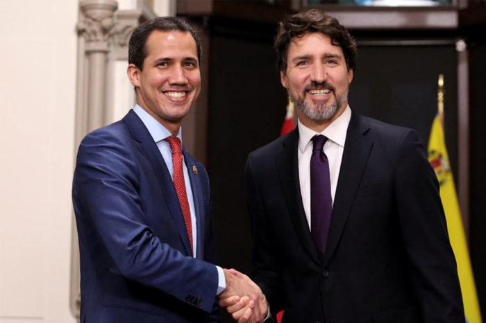 Guaidó en Canadá, por Naky Soto