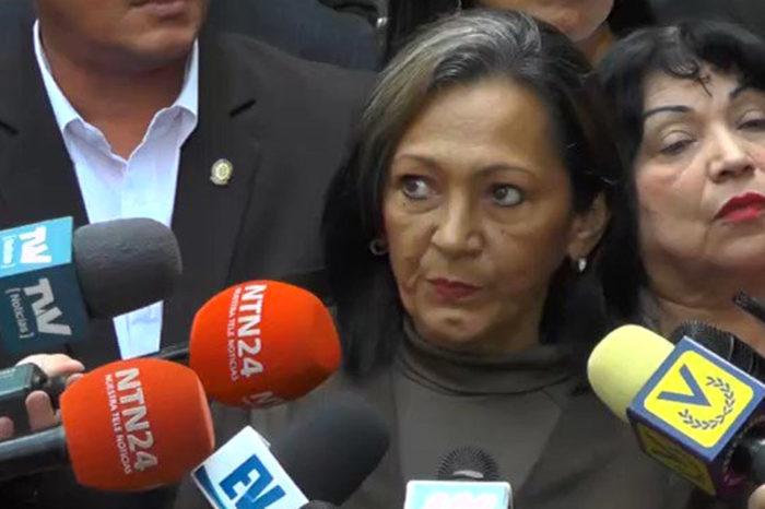 Diputada exchavista que ahora milita con la oposición, cuestiona la reelección de Guaidó