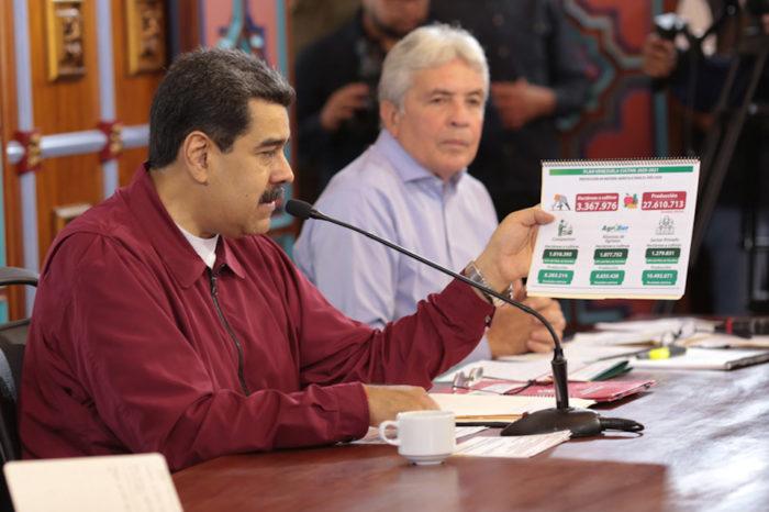 Maduro promete para este 2020 la mejor producción agrícola en 100 años