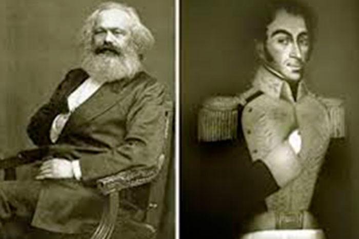 Marx y Bolívar