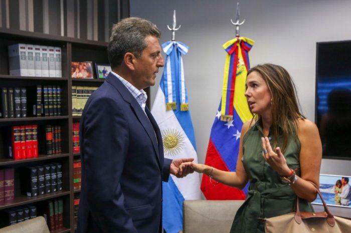 Diputado peronista Sergio Massa dijo que régimen de Maduro irrespeta normas democráticas