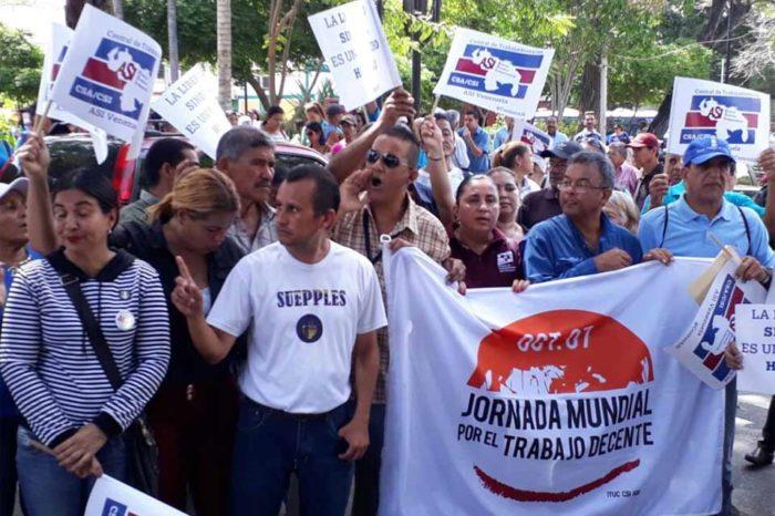 Dirigentes sindicales de Sucre se declaran en huelga de hambre tras detención ilegal