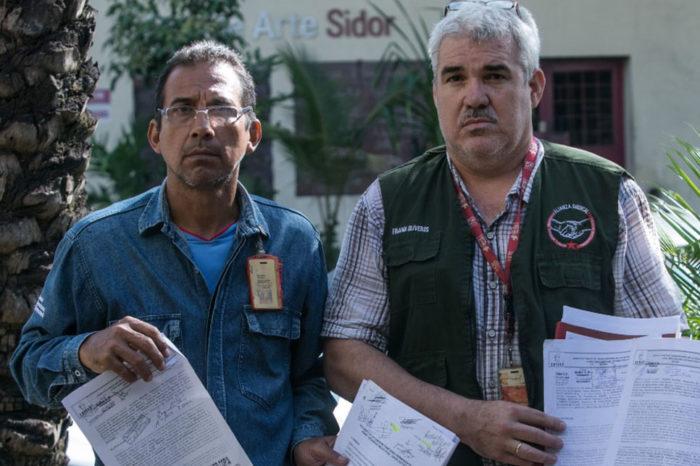 Trabajadores de Sidor son forzados a laborar bajo mínimas condiciones de seguridad