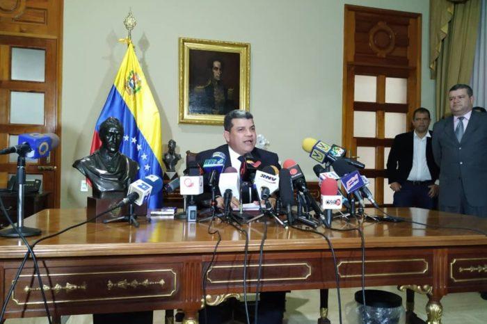 Luis Parra crea comisión para investigar paradero de fondos humanitarios