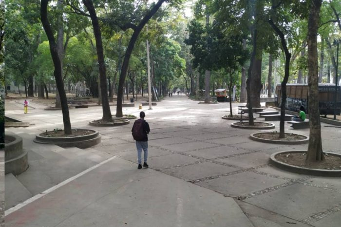 Visitantes de Parque Los Caobos claman mayor despliegue policial