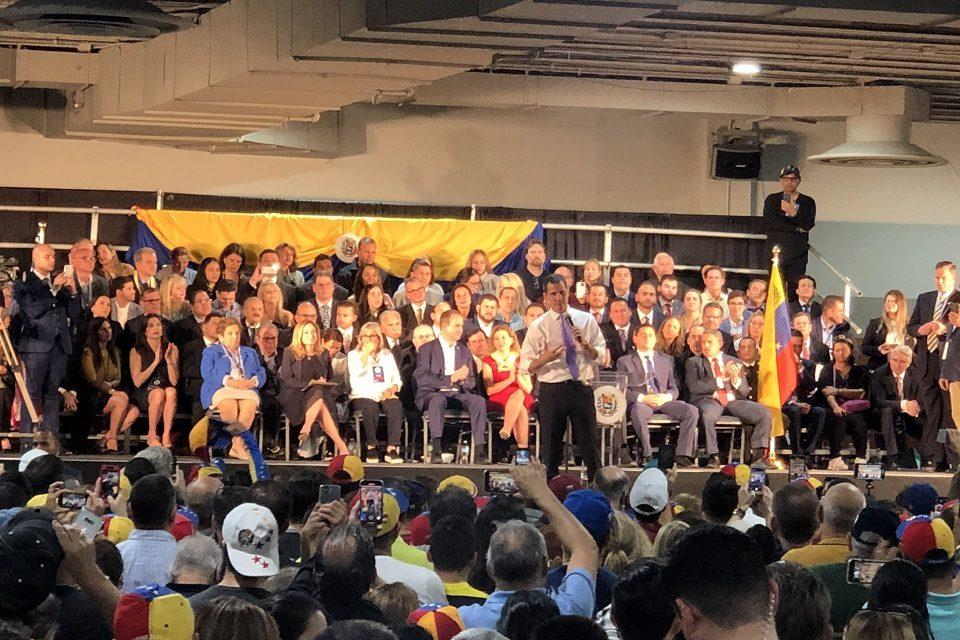 Juan Guaidó oposición vía electoral