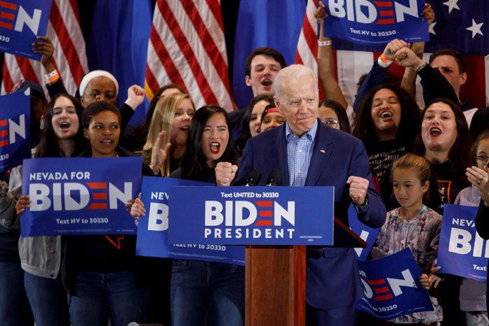"""Joe Biden """"brilló"""" en supermartes en EEUU al ganar a Bernie Sanders en nueve estados"""