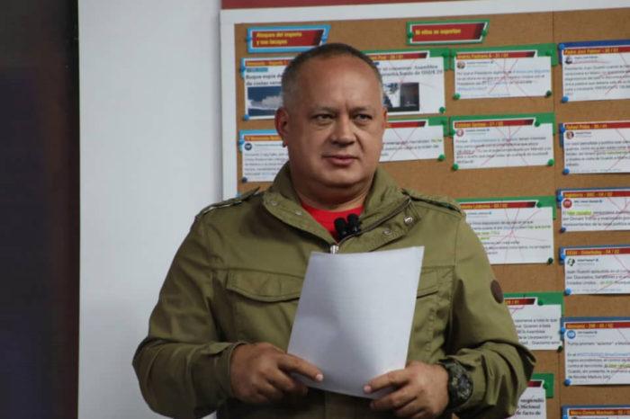 """Cabello presenta presunta confesión para """"desmontar"""" el ataque a Guaidó en Barquisimeto"""