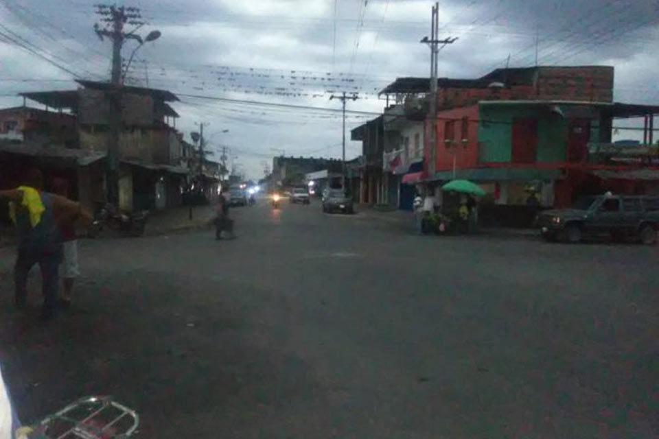 Localidad El Nula, de Apure, vacía ante paro del ELN colombiano
