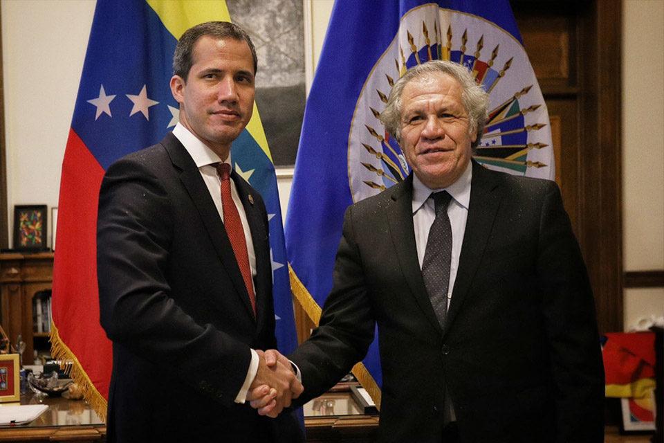 Luis Almagro reconoce a Juan Guaidó