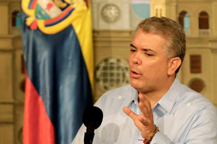 Duque pide elecciones libres para empezar a solucionar crisis venezolana