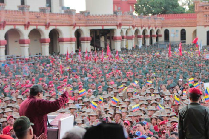 """Maduro critica a Guaidó y denuncia presencia de """"terroristas"""" financiados por Colombia"""