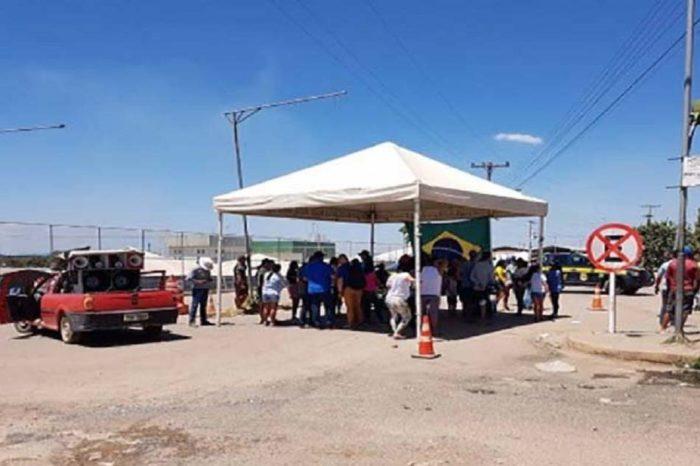 Brasileños cerraron el paso en Paracaima en protesta por migración venezolana