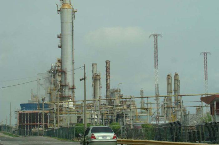 refinerías El Palito gasolina
