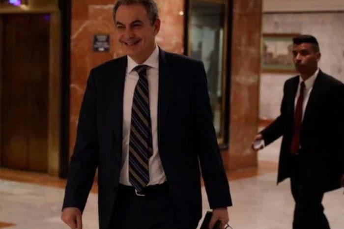 """Rodríguez Zapatero se sentó en """"la mesita"""" de diálogo para concretar cambio del CNE"""