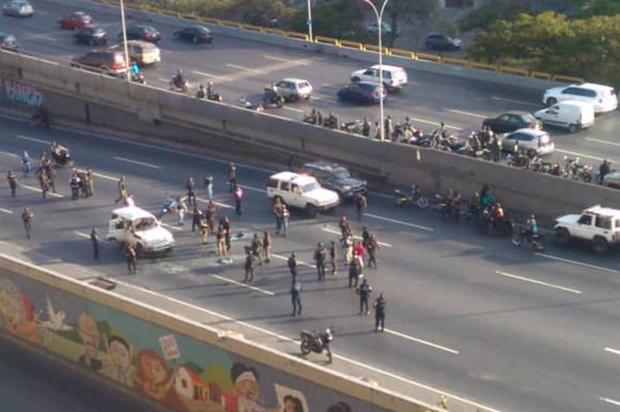 Funcionarios de las FAES frustraron secuestro a las afueras del CCCT