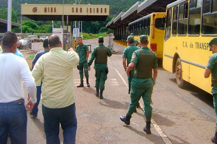 En Bolívar ordenan desalojar de sede sindical a equipo de Rubén González