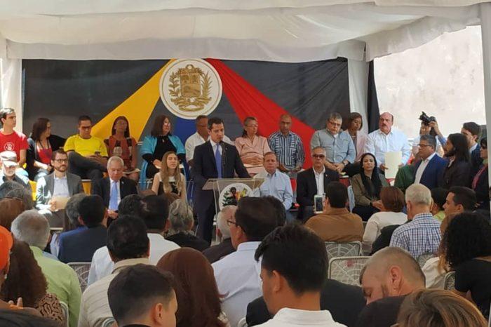 Guaidó anuncia hoja de ruta para incrementar presión contra el Gobierno
