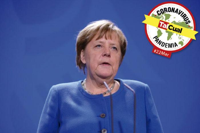 Todo sobre la pandemia | Canciller de Alemania es puesta en cuarentena preventiva