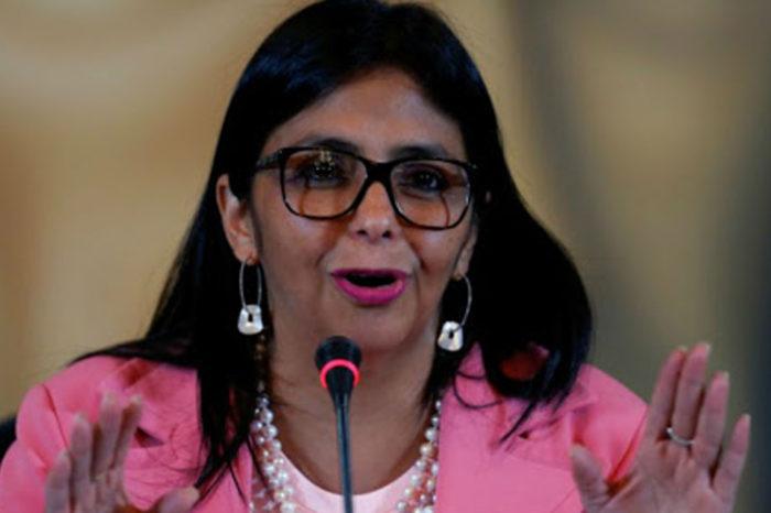 Delcy Rodríguez sobre contagios