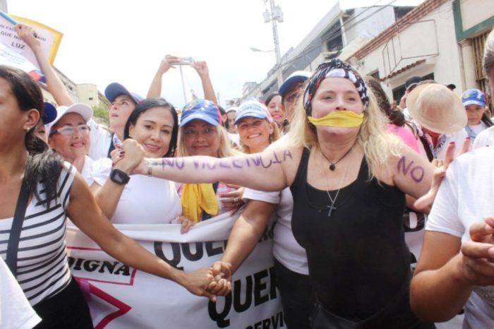 Laidy Gómez: Militares dan la espalda a mujeres tachirenses
