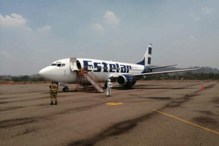 Aterriza de emergencia en Amazonas avión de Estelar con 118 venezolanos repatriados