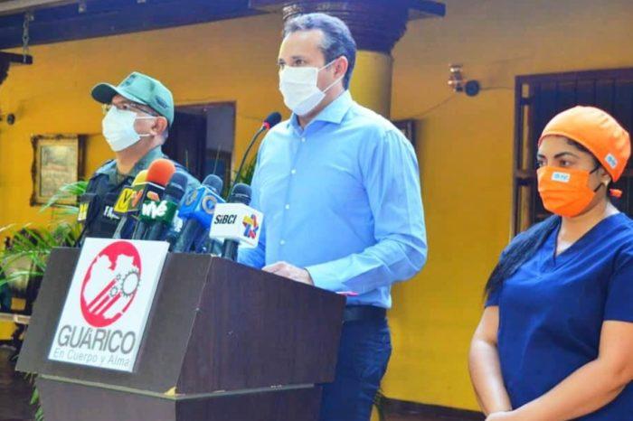 Gobernador de Guárico confirma primer caso de covid-19 en la entidad