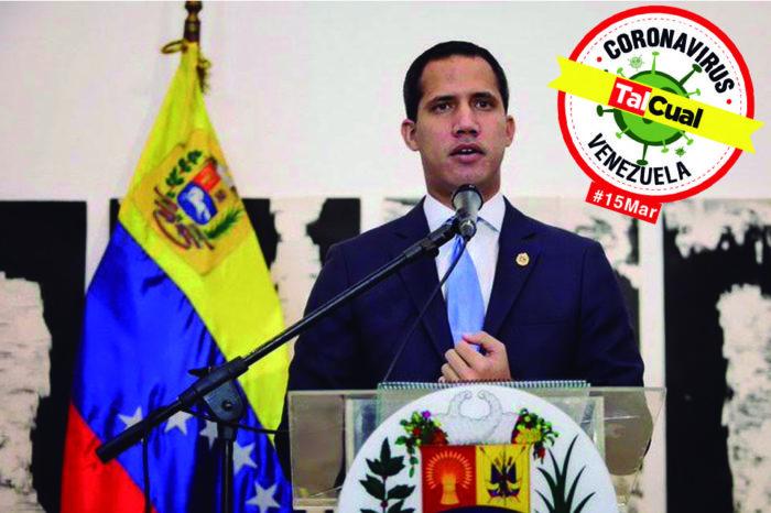 Juan Guaidó: Covid-19 llegó a Venezuela en medio del colapso de los servicios públicos