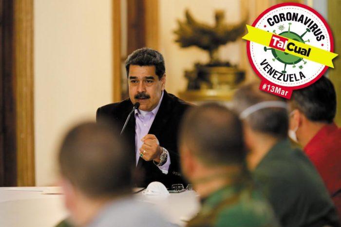 Covid-19 en Venezuela | Maduro decreta cuarentena total del país ante 16 nuevos casos