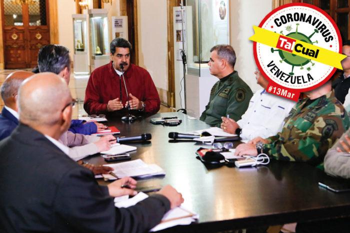 Maduro toma medidas contra el Covid-19
