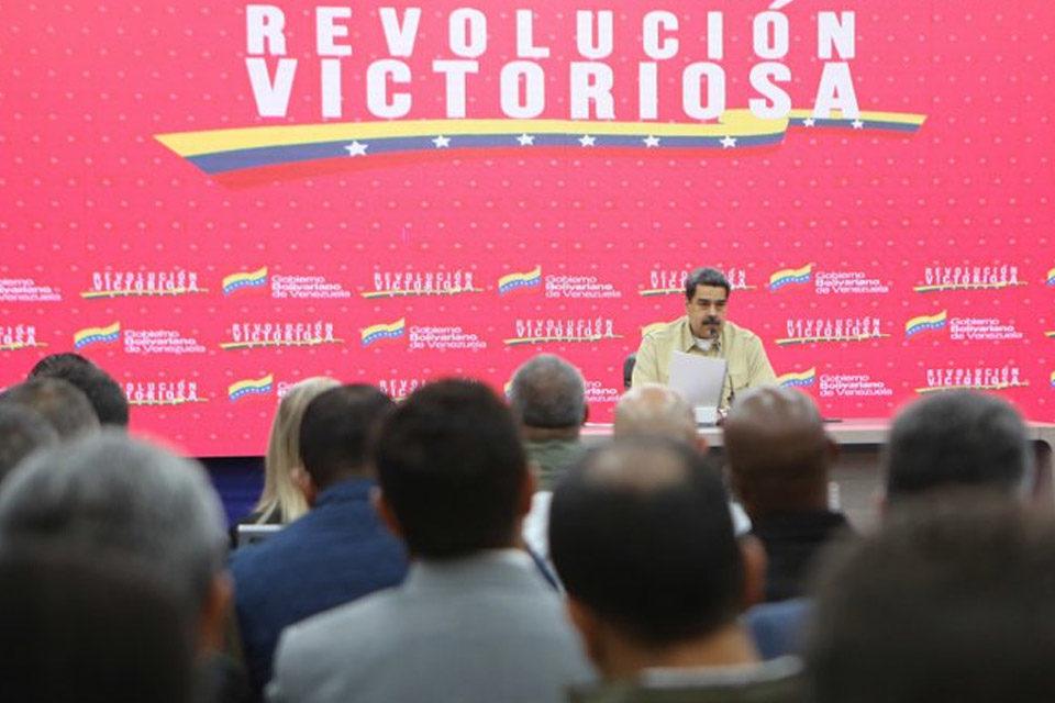 Maduro denuncia que Trump intenta iniciar una guerra en Venezuela