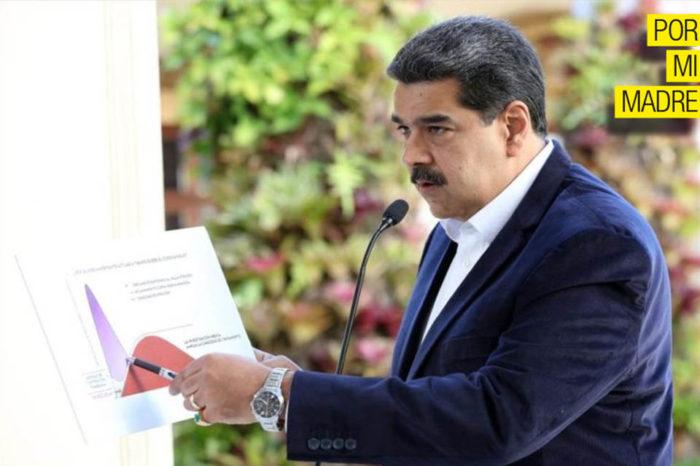 Maduro Por mi madre FMI