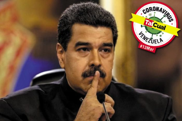 Maduro calla casos de covid-19