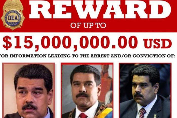A Maduro le acusan de delitos que pueden acarrear cuatro cadenas perpetuas