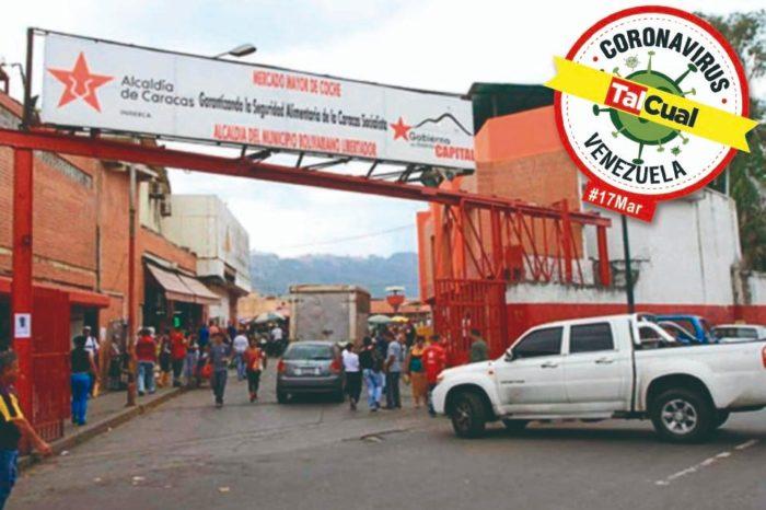 Covid-19 en Venezuela | Mercado de Coche con largas colas tras denuncias de su cierre